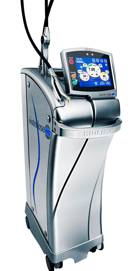 A BIOLASE dental laser machine