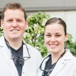 Ryan Bond, DDS and Megan Bond, DDS smiling